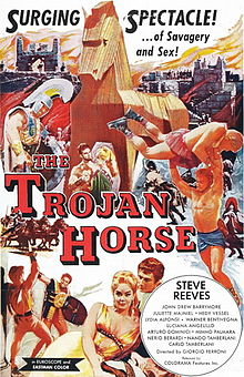 poster La Guerra Di Troia (1961)