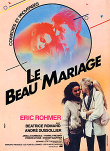 poster Le Beau Mariage (1982)
