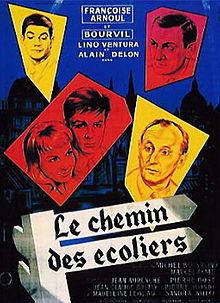 poster Le Chemin Des Ecoliers (1959)
