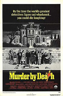 poster Murder By Death (1976)