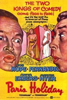 poster Paris Holiday (1958)