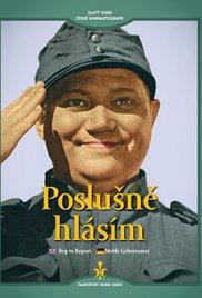 poster Poslusne Hlasim (1958)