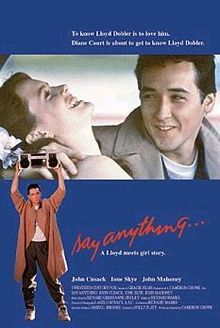 poster Say Anything... (1989)