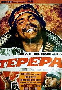 poster Tepepa - Blood and Guns (1969)