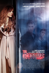 poster The Canyons (2013)