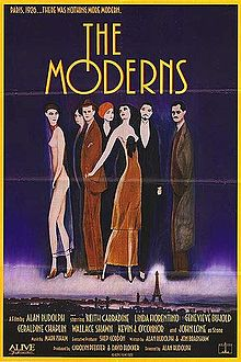 poster The Moderns (1988)