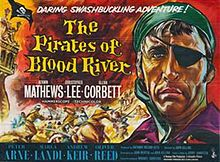 poster The Pirates Of Blood River (1962)