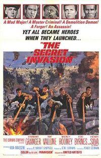 poster The Secret Invasion (1964)