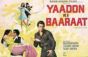 poster Yaadon Ki Baaraat (1973)