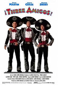 poster ¡Three Amigos! (1986)