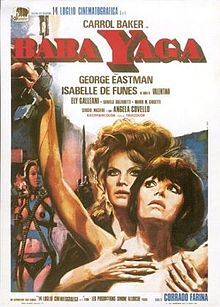 poster Baba Yaga - Kiss Me, Kill Me (1973)
