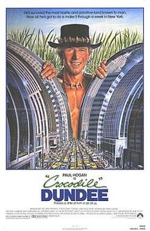 poster Crocodile Dundee (1986)