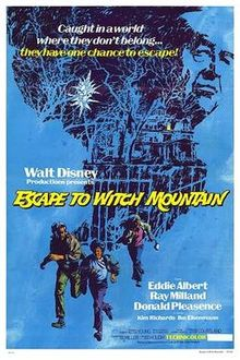 poster Escape To Witch Mountain (1975)