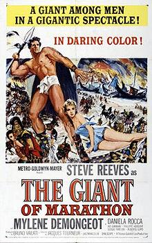 poster La battaglia di Maratona (1959)