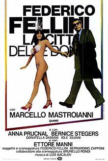 poster La città delle donne (1980)