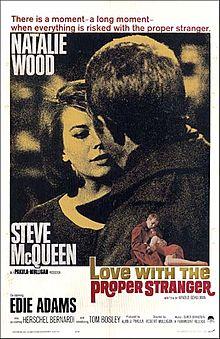 poster Love With The Proper Stranger (1963)