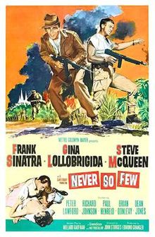 poster Never So Few (1959)