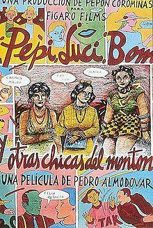 poster Pepi,Luci,Bom y otras chicas del monton (1980)