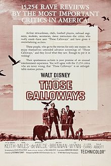 poster Those Calloways (1965)