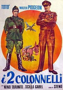 poster I Due Colonnelli (1962)