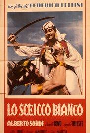 poster Lo Sceicco Bianco - The White Sheik (1952)