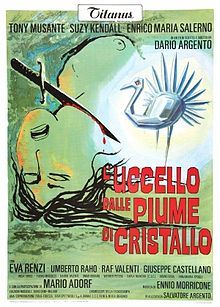 poster The Bird With The Crystal Plumage (1970)