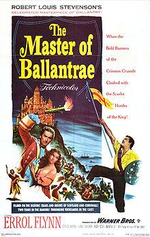 poster The Master of Ballantrae (1953)