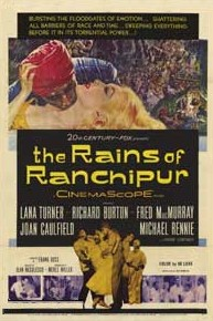 poster The Rains Of Ranchipur (1955)