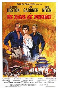 poster 55 Days At Peking (1963)