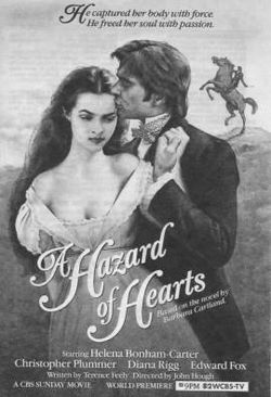 poster A Hazard Of Hearts (1987)