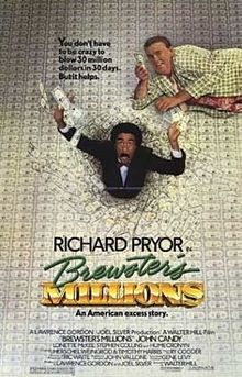 poster Brewster's Millions (1985)