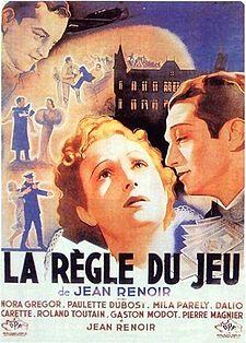 poster La Regle Du Jeu (1939)