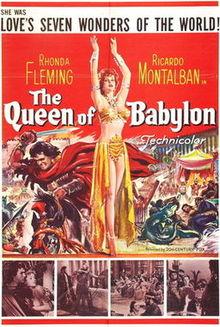 poster La cortigiana di Babilonia (1954)