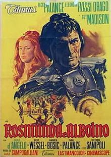 poster Rosmunda E Alboino (1961)