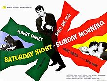 poster Saturday Night and Sunday Morning (1960)