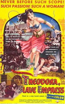 poster Teodora, imperatrice di Bisanzio (1954)