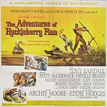 poster The Adventures Of Huckleberry Finn (1960)