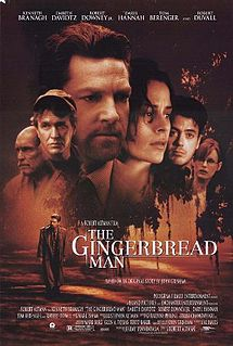 poster The Gingerbread Man (1998)