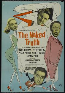 poster The Naked Truth (1957)