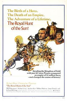 poster The Royal Hunt Of The Sun (1969)