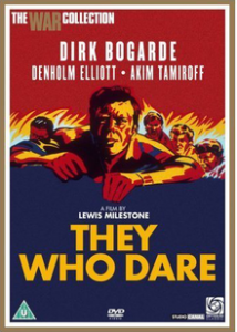 poster They Who Dare (1954)