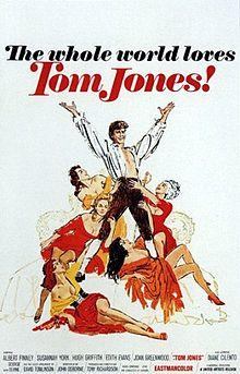 poster Tom Jones (1963)