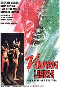 poster Vampyros Lesbos Aka Lesbian Vampires (1971)