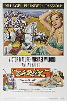 poster Zarak (1956)