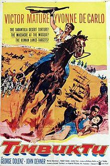 poster Timbuktu (1958)