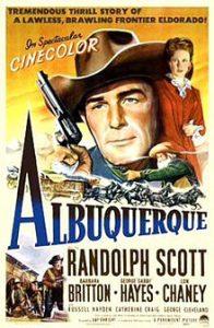 poster Albuquerque (1948)