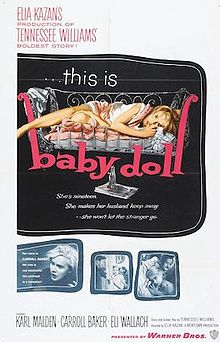 poster Baby Doll (1956)
