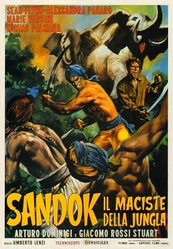 poster Sandok, il Maciste della giungla (1964)
