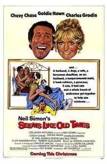 poster Seems Like Old Times (1980)