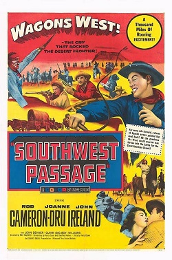 poster Southwest Passage (1954)
